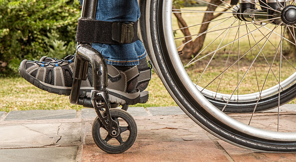 backyard safety for disabled